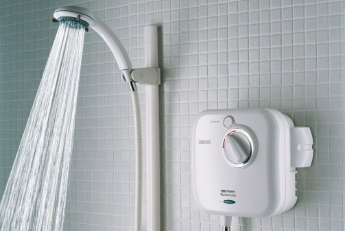 Waterbesparende douche