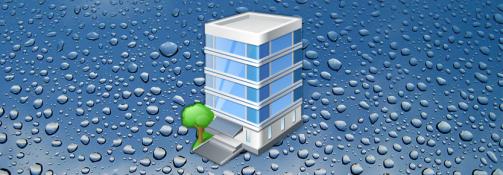 Op het werk water besparen